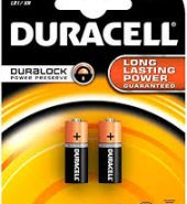 2 x Duracell Speciality Batteries Size LR1