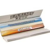 2 x Elements Blue Hemp Connoisseur King Size Slim Rolling Papers & Tips