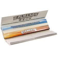 Elements Blue Hemp Connoisseur King Size Slim Rolling Papers & Tips