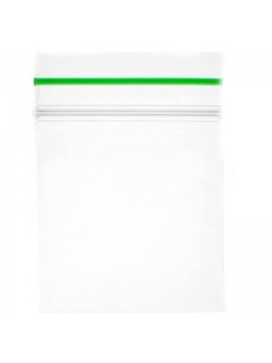 Grip Seal Zipper Bag Plain Baggies Clear