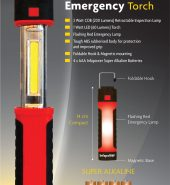 Infapower F050 3 in 1 Retractable Inspection Lamp