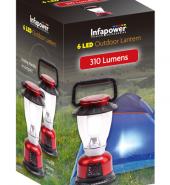 Infapower Outdoor Lantern 6 Led F042