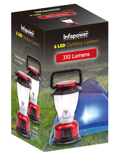 Infapower Outdoor Lantern 6 Led F042