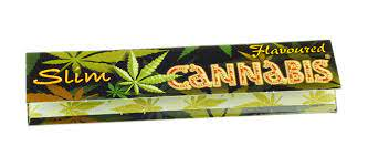 Juicy Jays Cannabis King Size Slim Flavoured Rolling Papers
