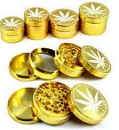 3 Part 40mm Metal Leaf Herb Grinder
