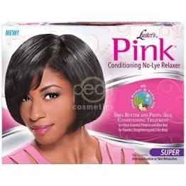Lusters Pink Conditioning No Lye Super Kit