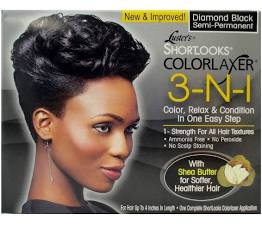 Luster's Shortlooks Colorlaxer 3-N-1 Semi-Permanent Black