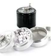 4 Part Aluminium Chopper Mill Herb Grinder