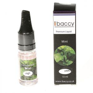 iBACCY E Liquid Mint Flavour 10ml