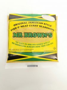 Mr Browns Fish & Meat Curry Seasoning 140g