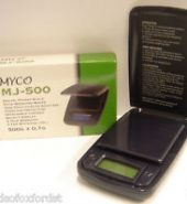 Myco MJ-500 Digital Scales 0.1g x 500g