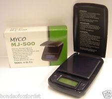 Myco MJ-500 Digital Scales 0.01g x 500g