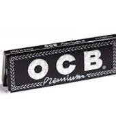 5 x OCB Black Premium Regular Rolling Papers