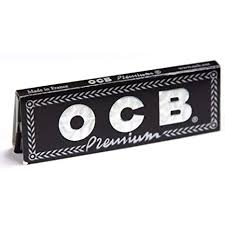 5 x OCB Black Premium Regular Rolling Papers