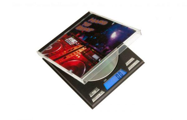 On Balance CD Square SS-100 Digital Scales 0.01 x 100g