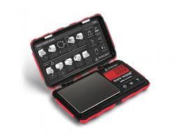 On Balance Tuff-Weigh TUFF-100 Digital Scales - Red 0.01 x 100g