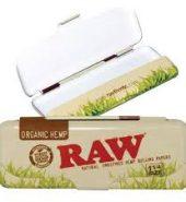 RAW Organic King Size Slim Papers Holder Case Tin
