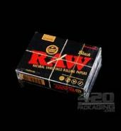 RAW BLACK Rolling Papers Playing Cards