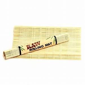 RAW Bamboo Rolling Mat Small