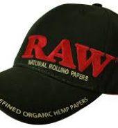 RAW Baseball Cap Black