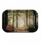 RAW Forest Small Metal Rolling Tray 275mm x 175mm
