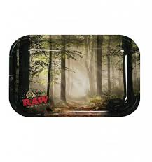 RAW Forest Small Metal Rolling Tray