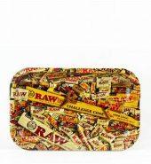 RAW Mix Mini Metal Rolling Tray 178mm x 125mm