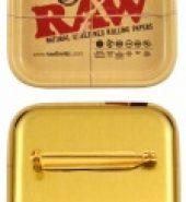 RAW Miniature Tray Pin Badge