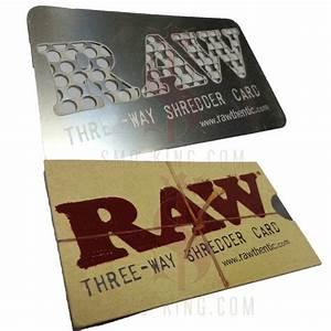 RAW Three Way Shredder Card Grinder