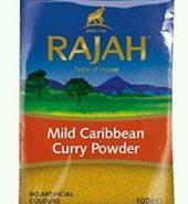 Rajah Caribbean Curry Powder Mild 100g