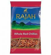 Rajah Red Chillies Whole 40g