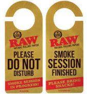 Raw Do Not Disturb Door Sign