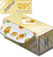 Rips Peach Flavoured Slim Rolls 4m