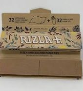 2 x Rizla Natura Combi Pack – King Size Slim Rolling Papers + Paper Tips