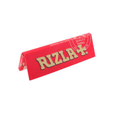 3x Rizla Red Regular Rolling Papers