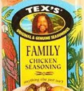 Texs Family Chicken Mix 300g