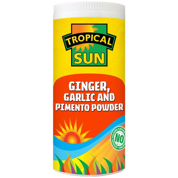 Tropical Sun Ginger, Garlic & Pimento Seasoning 100g