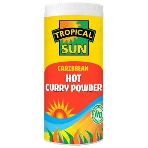 Tropical Sun Caribbean Curry Powder - Hot 100g