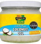 Tropical Sun Coconut Oil 100% Pure 250g