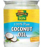 Tropical Sun Coconut Oil 100% Pure 480ml