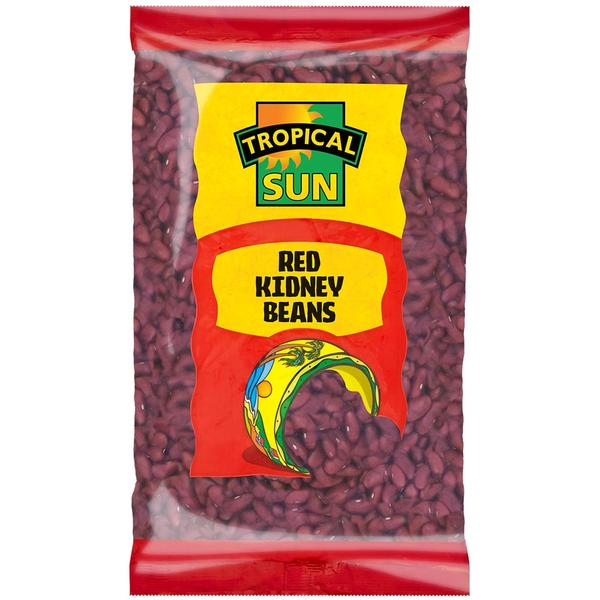 Tropical Sun Red Kidney Beans - Dry 2Kg