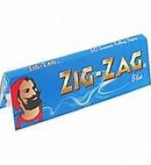 10 x Zig-Zag Blue Regular Rolling Papers