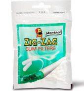 Zig-Zag Slim Menthol Filter Tips