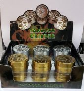 3 Part 40 MM Metal Amsterdam Herb Grinder