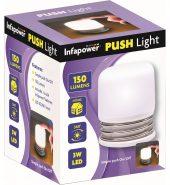 Infapower Push Function Light 3 Watt LED Bulb F055
