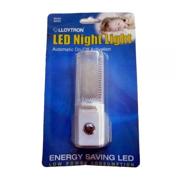 Lloytron Plug In Automatic Night Light Led