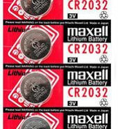 Maxell Lithium Battery CR2032 (5 on a Card)