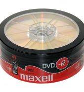 Maxell DVD-R 4.7Gb Spindle (Pk of 25)