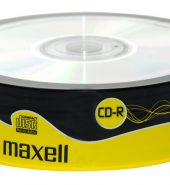 Maxell CD-R80 (52x) 700MB Spindle (Pk of 25)