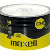 Maxell CD-R80 (52x) 700MB Spindle (Pk of 50)